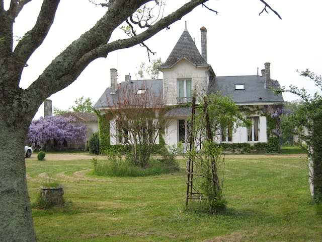 This property of the XVIII - Saint-Seurin-sur-l'Isle - Casa