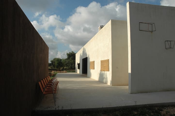 Villa near nature reserve and sea