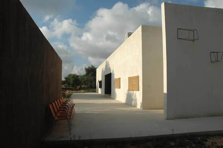 Villa near Torre Guaceto nature reserve and sea