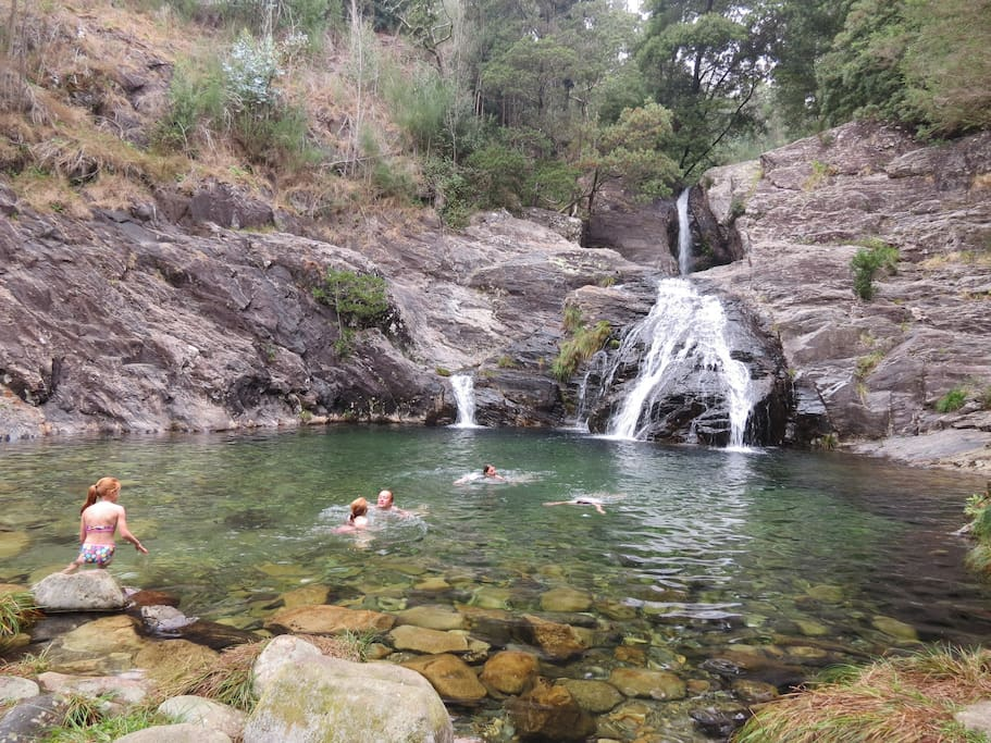 Things to experience - Waterfalls and natural pools nearby the house