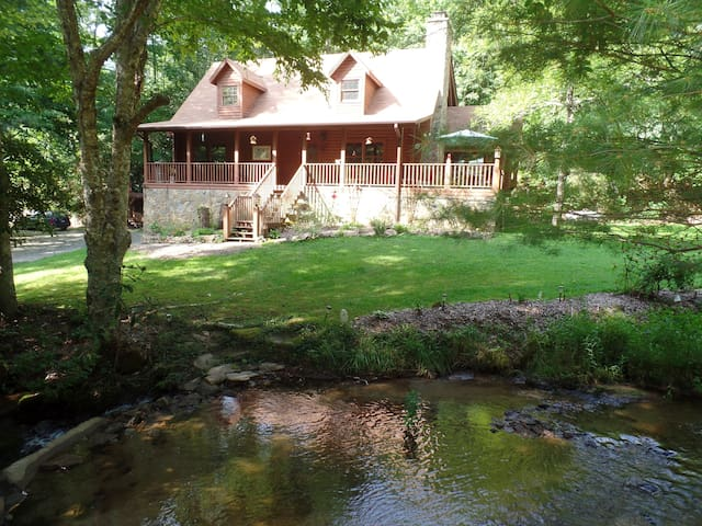 Creekside Paradise B&B South Room - Robbinsville - Aamiaismajoitus