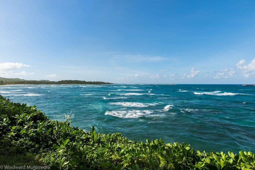 Magnificent ocean view