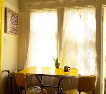 Bright & Colorful Oakland Studio!