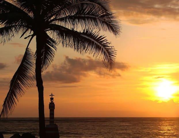 Beachfront Condo - Amazing Sunsets! - Bahia de Caraquez - Byt