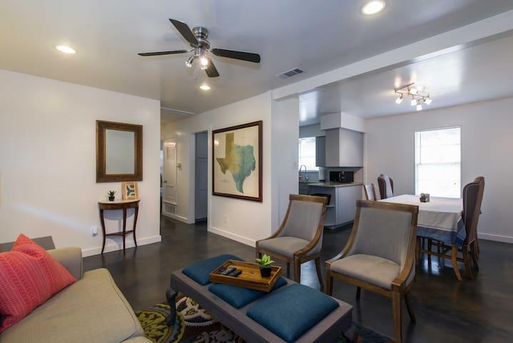 4BD Barton Hills | Zilker Greenbelt - Austin - House