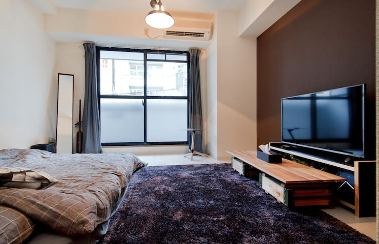 -SHINSAIBASHI- 10min to WALK! FREE Wi-Fi★ 203room - Ōsaka-shi - Appartement