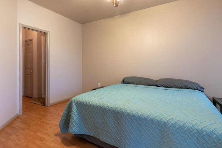Downstairs Bedroom; King Bed