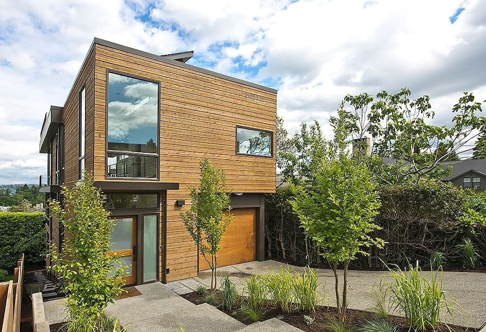 Modern Exterior - Design by top Seattle Firm