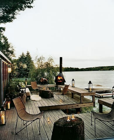 Lakeside Cottage - 1 hour from Manhattan - Jefferson - Hus