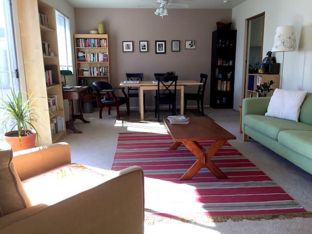 Spacious Apt near Bart & Lake Merritt - Oakland - Appartement