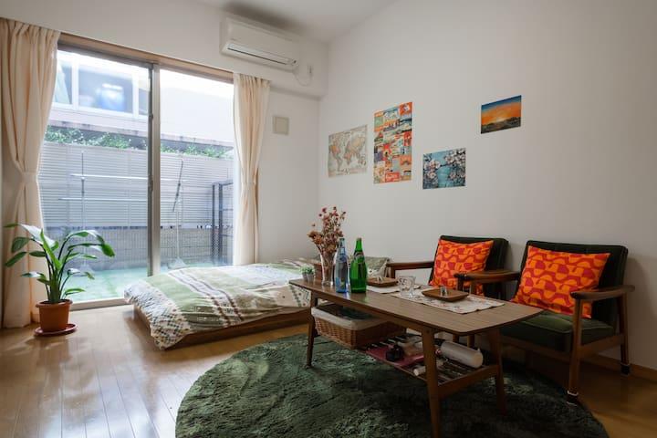 Tokyo Shibuya&Nakameguro sta 10min - Meguro-ku - Apartemen