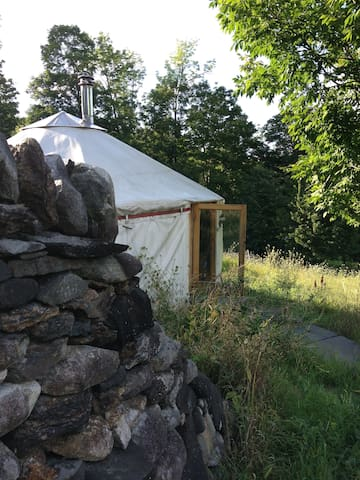 Yurt on Family Homestead - Brattleboro