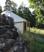 Picture of Yurt on Family Homestead