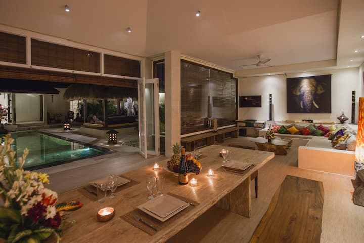 MATAHARI 3BR Villa Seminyak BIG disc monthly stay!