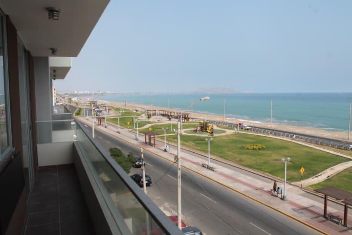 Flat con vista al mar en San Miguel - Lima - Apartment