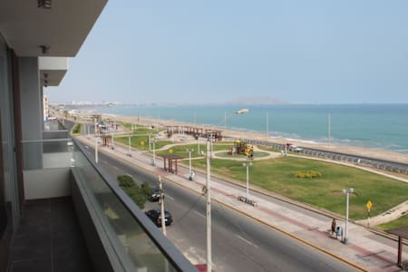 Flat con vista al mar en San Miguel - Lima - Appartement