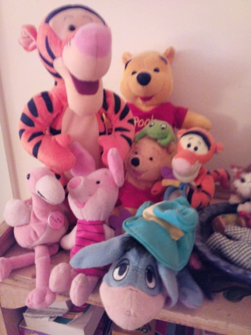 Winnie the Poo and Friends.