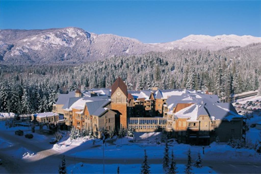 Embarc Whistler in winter.