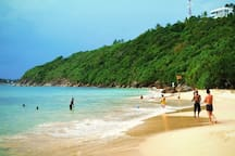 Jungle Beach - a great little beach tucked away on the other side of Unawatuna