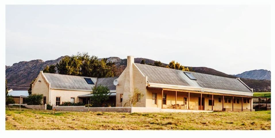 Druk my Niet Stud Farm - Tulbagh Road - House