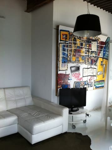 LOFT NEAR THE BEACH , AUTHENTIC - Barcelona - Podkroví