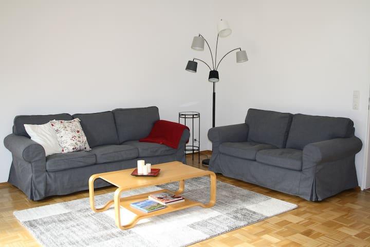 Gemütliche, ruhige Wohnung mit Garten bei Hamburg - Rosengarten - Byt