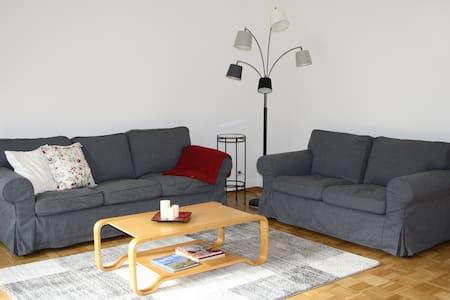 Gemütliche, ruhige Wohnung mit Garten bei Hamburg - Rosengarten - Apartament