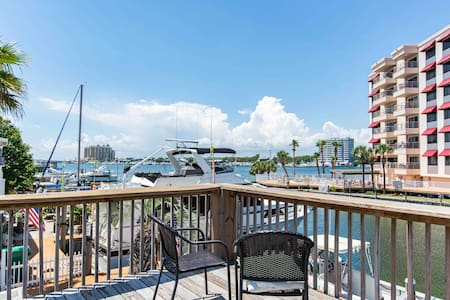 Harborfront Destin-ation-GORGEOUS DECK VIEW