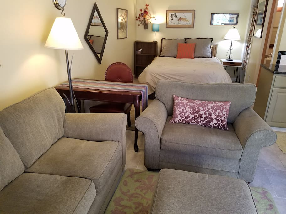 New furniture set - so comfy!