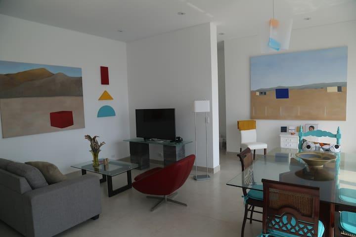 Schöne, moderne Wohnung in Punta Negra - Punta Negra - Appartement