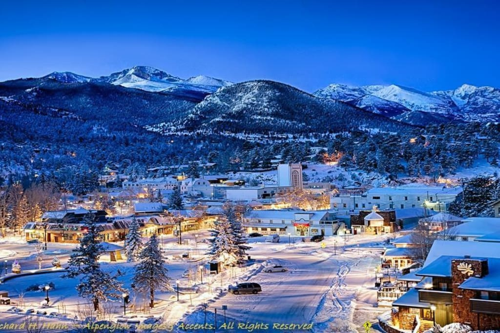 There's nothing more beautiful than Estes in the winter!