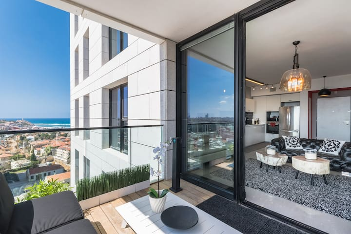 AMAZING LUXURY 3 BEDROOM TERRACE SEE VIEW- 6PEOPLE