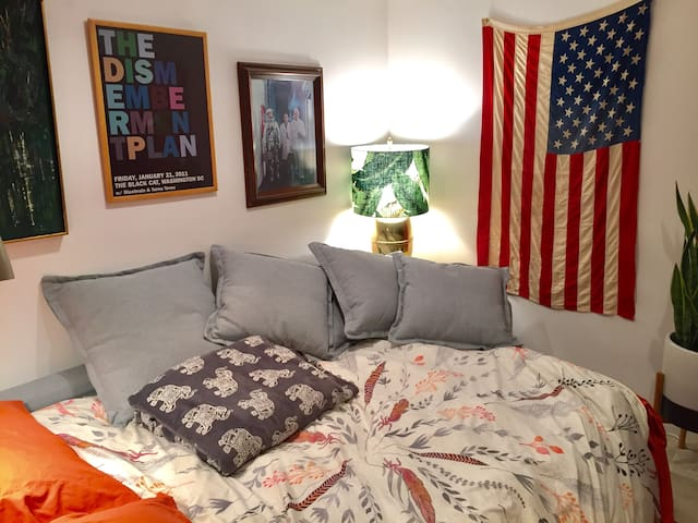 Comfy, Cozy Basement Suite in Columbia Heights, DC