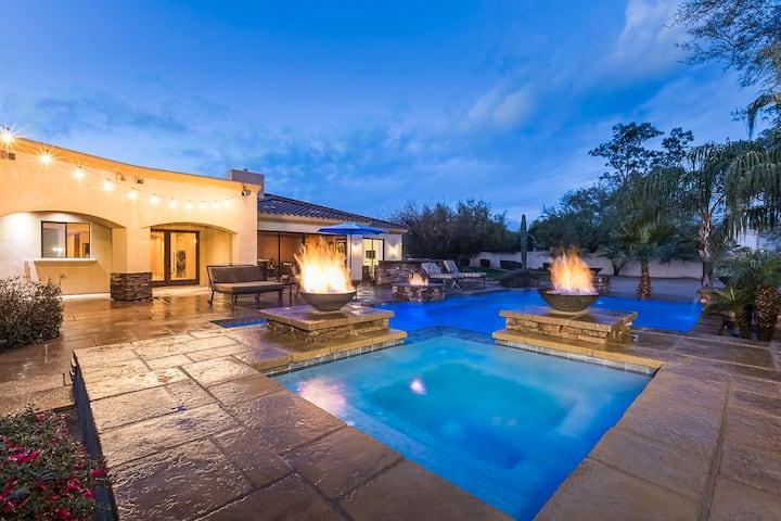 Vast, Extravagant Estate. Room to Relax & Play. Heated* Pool & Spa