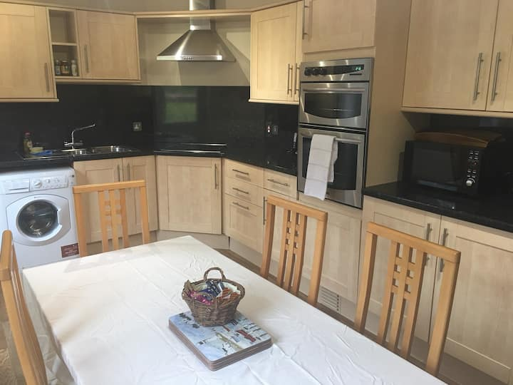 Self catering. Double bedded apartment