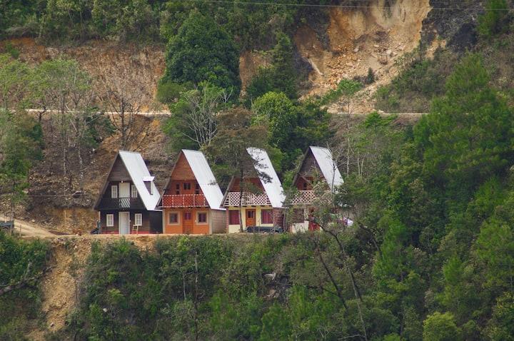 Cabaña 2 en Lagunas de Monte Bello