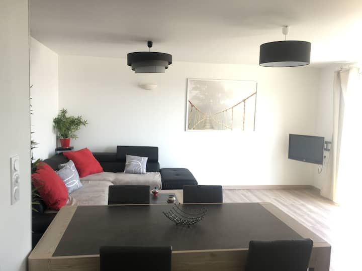 Appartement 74 m2, wifi, vue mer, Charge inclus
