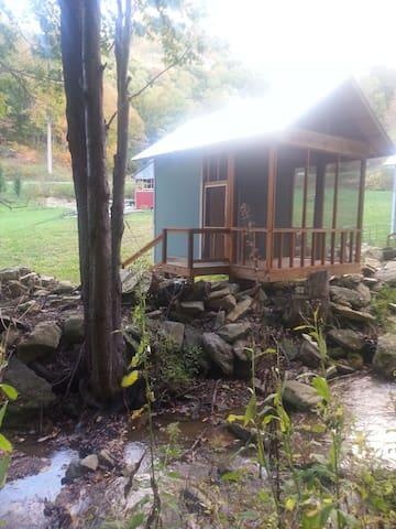 Orbits creekside cabin