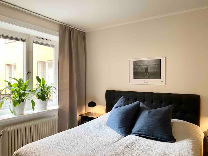 Apartment in the heart of trendy Södermalm.