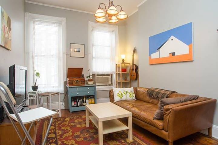 Sunny 2 Bedroom Park Slope Apt w/ Private Backyard