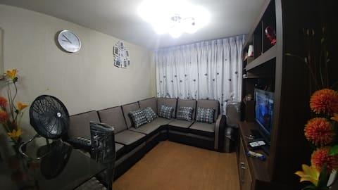 Comoda habitacion con excelente ubicacion.