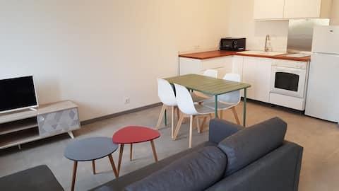 Appartement T2 entièrement rénové à Sigean (Aude)