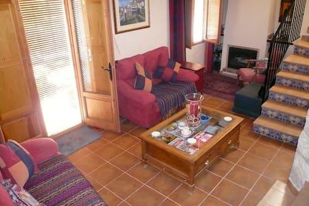 Charming rustic house in la Vall de Seta - Benimassot - Hus