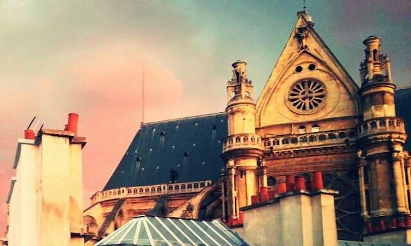 Chambres au coeur de Paris