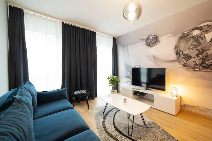 Spring House Parking Wifi Netflix PS3 Krakow 60m2