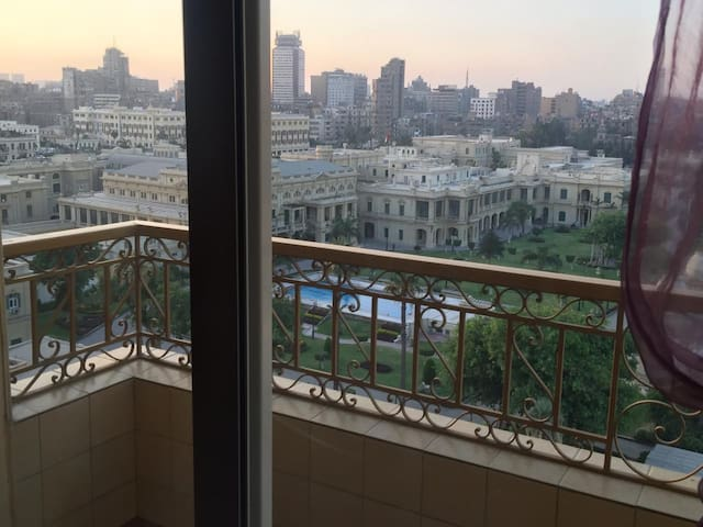 New flat with amazing view in the heart of Cairo