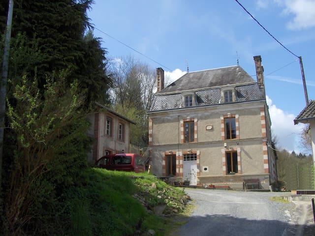 Moulin du Queyroux, Maison Bourgeoise - Bussière-Poitevine - Dům