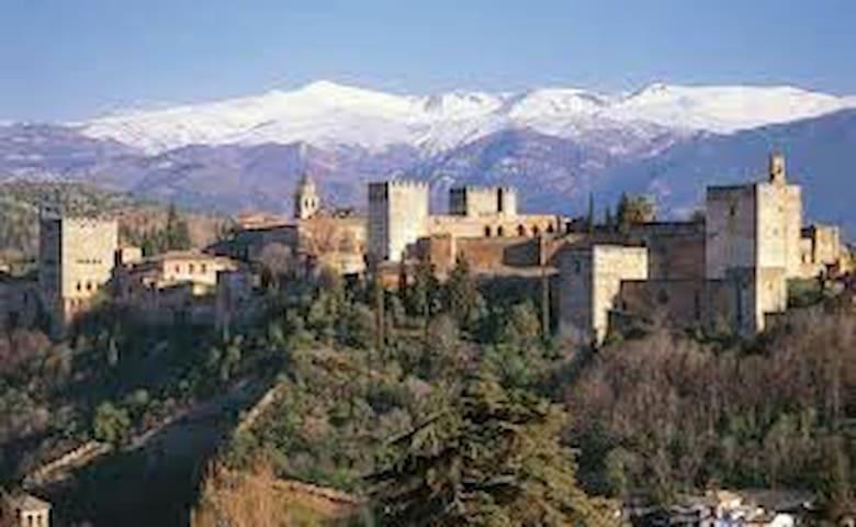 Sierra Nevada-Alhambra-Cahorros-Granada - Monachil - Wohnung