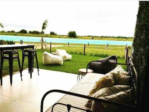 Paraíso cerca de ti~playa y jardín !!