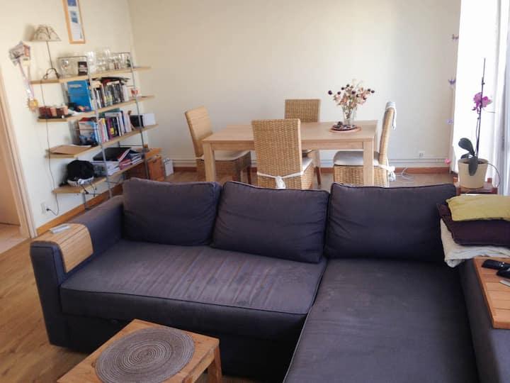 Luminous and cosy apartment